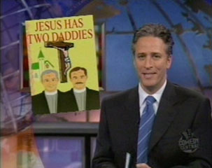 Daily show jon stewart terapia gay homosexual